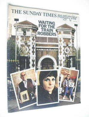 <!--1974-06-30-->The Sunday Times magazine - Waiting For The Train Robbers
