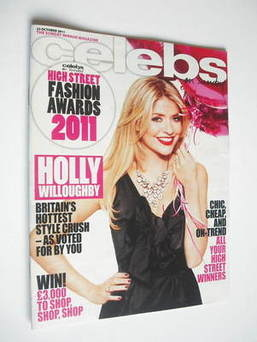 Celebs magazine - Holly Willoughby cover (23 October 2011)
