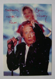 Bill Nighy autograph (hand-signed photograph, dedicated)