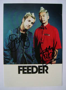 Feeder autographs