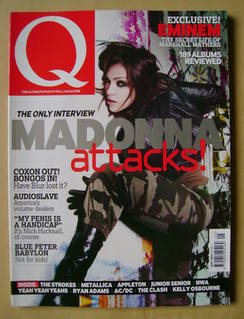 Q magazine - Madonna cover (May 2003)