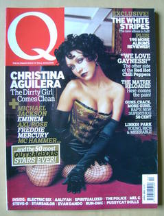 <!--2003-04-->Q magazine - Christina Aguilera cover (April 2003)
