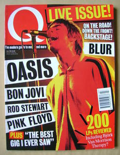 Q magazine - Liam Gallagher cover (July 1995)