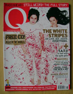 <!--2003-06-->Q magazine - The White Stripes cover (June 2003)