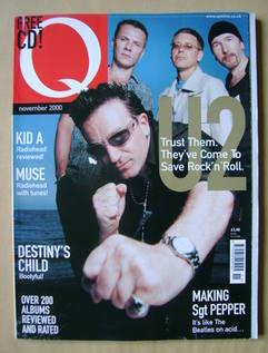 <!--2000-11-->Q magazine - U2 cover (November 2000)