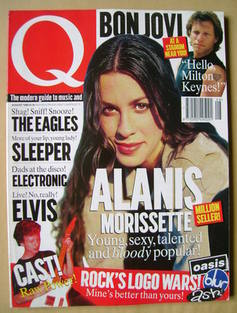 <!--1996-08-->Q magazine - Alanis Morissette cover (August 1996)