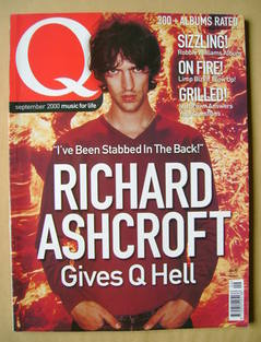 <!--2000-09-->Q magazine - Richard Ashcroft cover (September 2000)