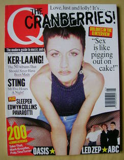 <!--1996-05-->Q magazine - Dolores O'Riordan cover (May 1996)
