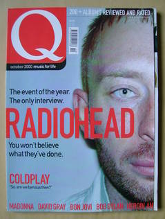 <!--2000-10-->Q magazine - Thom Yorke cover (October 2000)