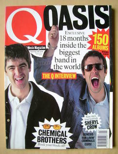 Q magazine - Liam Gallagher and Noel Gallagher cover (September 1997)