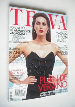 Telva magazine - Yasmin Le Bon cover (July 2011)