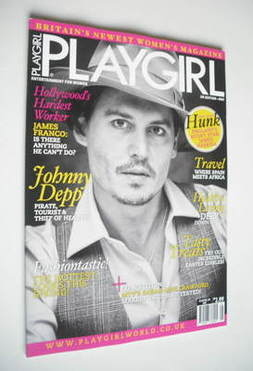 Playgirl magazine - Johnny Depp cover (May 2011)