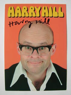 Harry Hill autograph (hand-signed photograph)