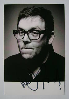 Nick Frost autograph
