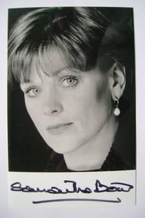 Samantha Bond autograph