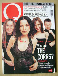 <!--1999-07-->Q magazine - The Corrs cover (July 1999)
