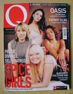 <!--2000-12-->Q magazine - The Spice Girls cover (December 2000)