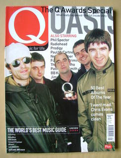 <!--1998-01-->Q magazine - Oasis cover (January 1998)