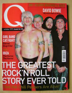 <!--1999-10-->Q magazine - Red Hot Chili Peppers cover (October 1999)