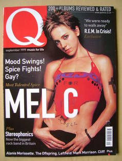 <!--1999-09-->Q magazine - Mel C cover (September 1999)
