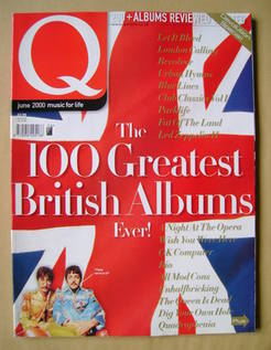 <!--2000-06-->Q magazine - The 100 Greatest British Albums Ever! cover (Jun