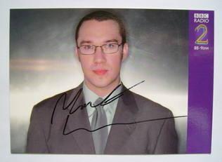 Mark Lamarr autograph
