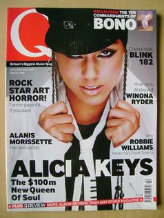 <!--2002-02-->Q magazine - Alicia Keys cover (February 2002)