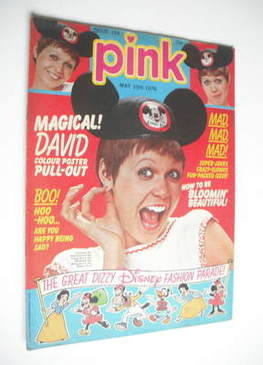 Pink magazine - 15 May 1976 - Julie Peasgood cover