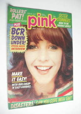 Pink magazine - 21 May 1977 - Leslie Ash cover
