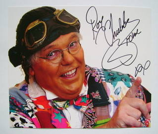 """Roy """"Chubby"""" Brown autograph - signed photo"""