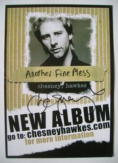 Chesney Hawkes autograph