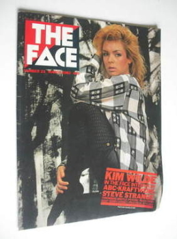 The Face magazine - Kim Wilde cover (March 1982 - Issue 23)