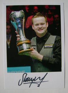 Shaun Murphy autograph (Snooker Player)