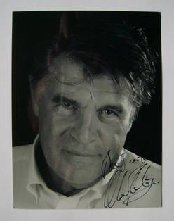 Oliver Tobias autograph