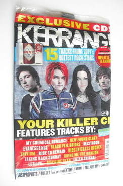 <!--2011-11-19-->Kerrang magazine - Pop Punk's Not Dead cover (19 November