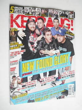 <!--2011-10-22-->Kerrang magazine - New Found Glory cover (22 October 2011