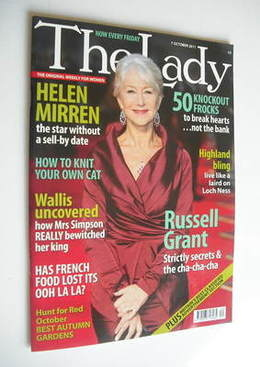 <!--2011-10-07-->The Lady magazine (7 October 2011 - Helen Mirren cover)