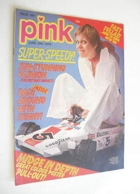 Pink magazine - 19 June 1976 - Julie Peasgood cover