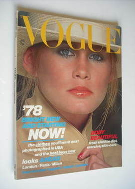 <!--1978-01-->British Vogue magazine - January 1978 (Vintage Issue)