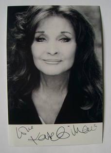 Kate O'Mara autograph