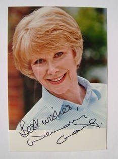 Wendy Craig autographed photo
