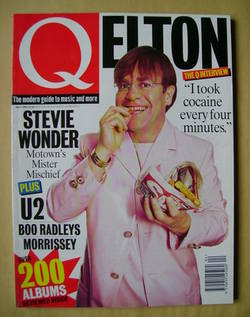 Q magazine - Elton John cover (April 1995)