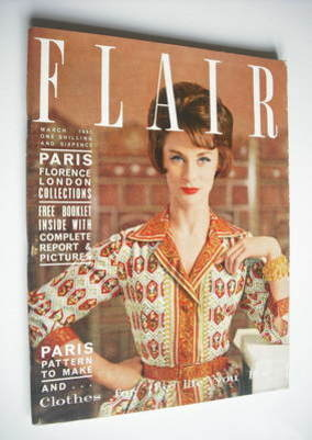 Flair magazine - March 1961