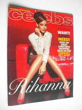 <!--2011-11-20-->Celebs magazine - Rihanna cover (20 November 2011)