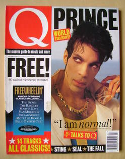 Q magazine - Prince cover (July 1994)