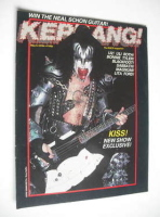 <!--1983-05-05-->Kerrang magazine - Gene Simmons cover (5-18 May 1983 - Issue 41)