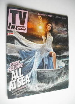 TV Buzz magazine - Kym Marsh cover (29 October 2011)