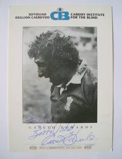 Gareth Edwards autograph