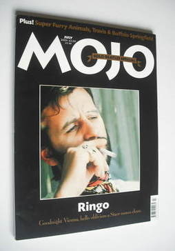 <!--2001-07-->MOJO magazine - Ringo Starr cover (July 2001 - Issue 92)