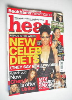 Heat magazine - New Celeb Diets cover (15-21 November 2003 - Issue 245)